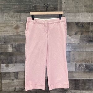 Wyeth Todd Magill Cropped Wide Leg Cotton Pants